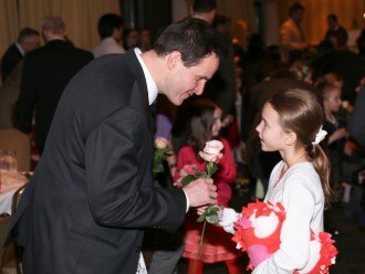 Daddy Daughter Valentine's Dance at The Radnor