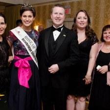 Margaret King, Maria Walsh, David Brennan, General Manager of Wayne Hotel and Chair of the Judging Panel, Kerri Donahue Meenagh, and Lori Lander Murphy
