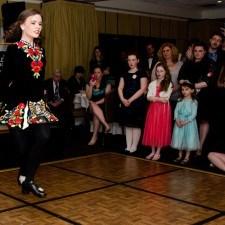 World Champion Irish Dancer, Ali Doughty of Malvern, PA wowed the crowd