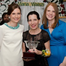 Margaret King, Winner of the 2015 Mary O'Connor Spirit Award with Sarah Conaghan and Karen Conaghan Race