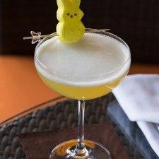 Peeptini Easter Cocktail