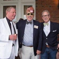 Men's Best Dressed Winners Kenneth Skinger, Jim Collins, Peter Murphy