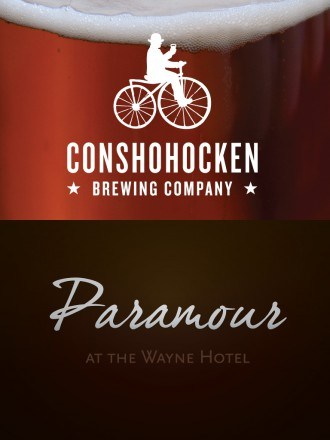 Conshohocken Brewing Company Beer Dinner at Paramour