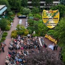 """""""Best Wedding Reception Location"""" The Radnor Hotel"""