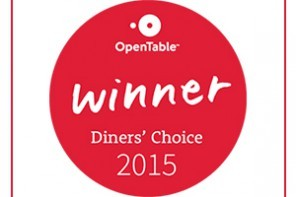 OpenTable Diners' Choice Awards 2015