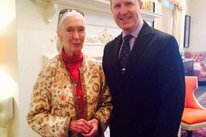 Dr. Jane Goodall Stays at the Wayne Hotel