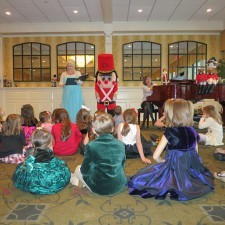 Children's Holiday Tea at The Radnor 2014
