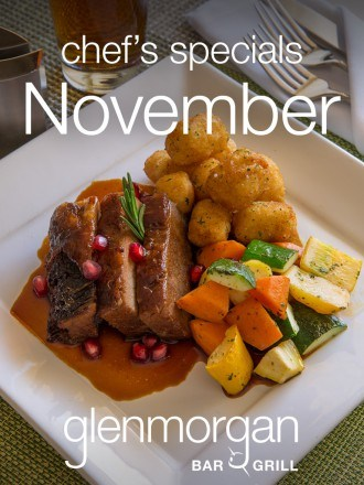Chef's Specials for November at Glenmorgan