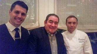 Chef Emeril Lagasse Dines at Paramour