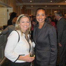 Jen Boyett, Government Affairs Manager at Comcast, and Anita Sayers of The Radnor Hotel