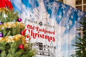 Wayne Hotel's Old Fashioned Christmas 2015 Recap