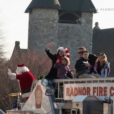 Santa and friends brought Christmas cheer to Wayne on Saturday morning