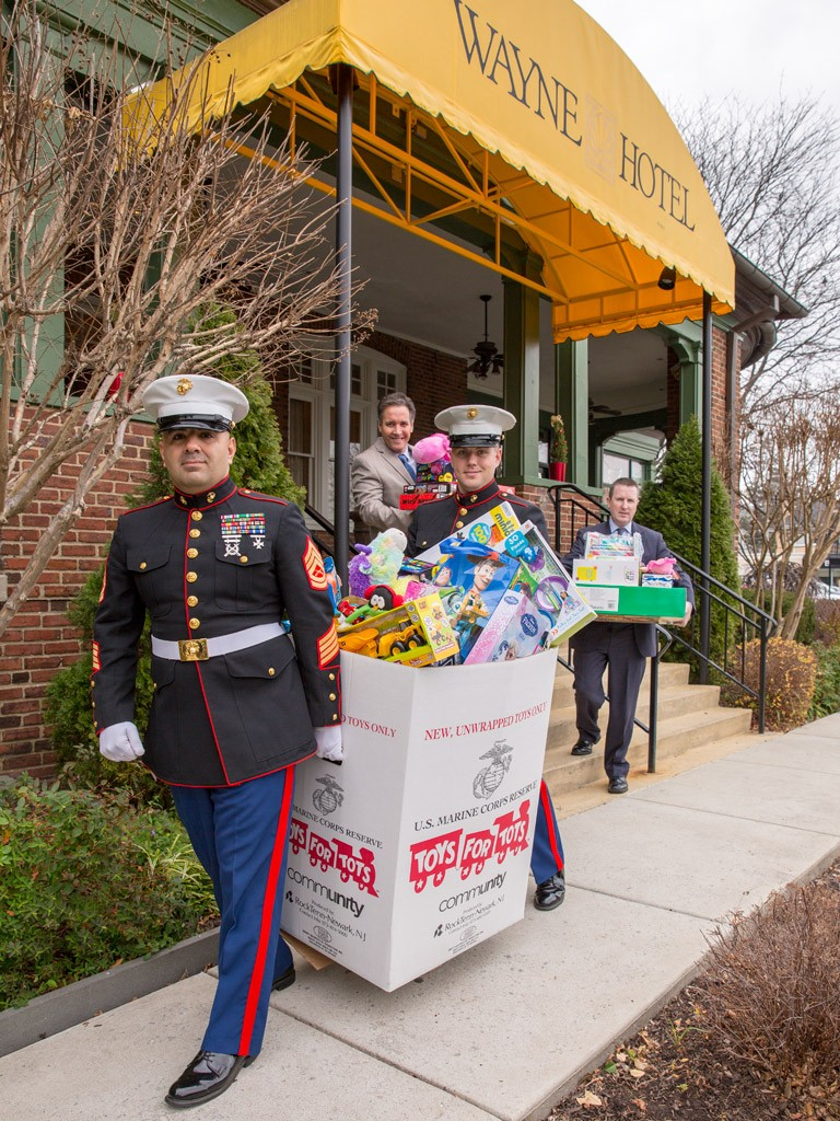 Toys for Tots at the Wayne Hotel 2015