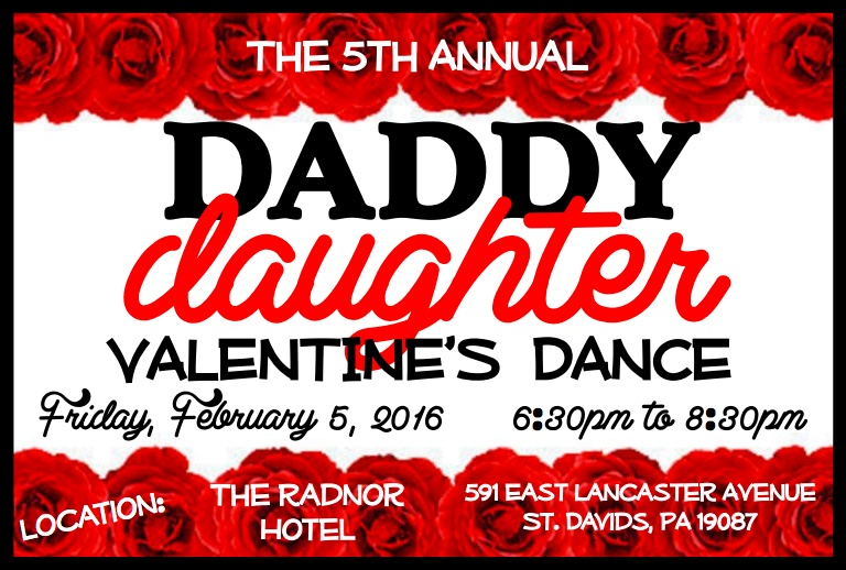 Daddy Daughter Valentine's Dance 2016