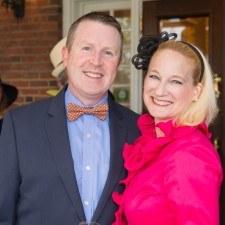 David Brennan (Wayne Hotel General Manager), Karen Louise Fay (Wayne Art Center)