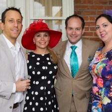 Josh & Noelle Burg, Adam & Anastasia Roth