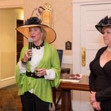 Ann McIlvain (Wayne Art Center Secretary), Nancy Campbell (Wayne Art Center, Executive Director)