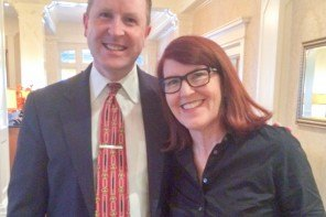 Award-Winning Actress Kate Flannery visits the Wayne Hotel