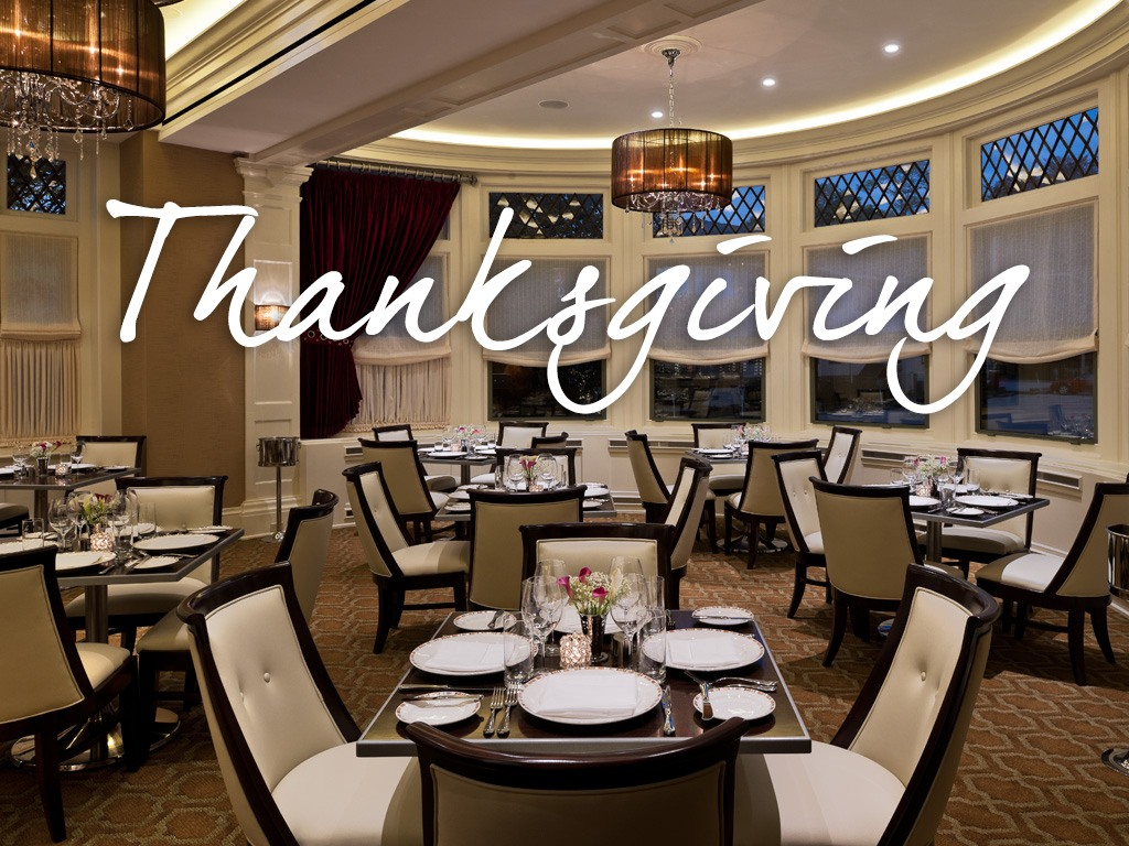Thanksgiving Dinner at Paramour