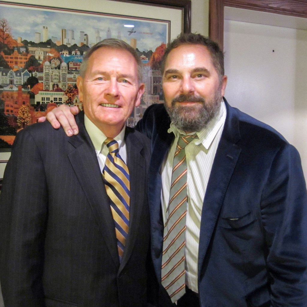 Senior Vice President & General Manager of The Radnor Hotel, Louis Prevost, welcomed filmmaker, writer, Main Line native, and Radnor High School graduate, Todd Komarnicki, to The Radnor