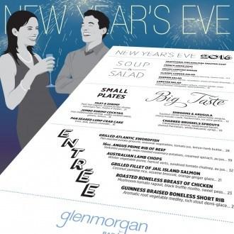 New Year's Eve Dinner at Glenmorgan