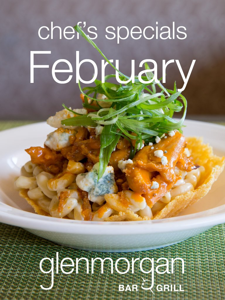 Chef's Specials for February