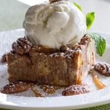 Pecan Sweet Potato Bread Pudding