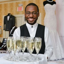 Champagne & Light Fare will be served at the Main Line Bridal Event