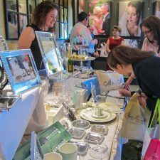 Brides met many local wedding experts at the Main Line Bridal Event