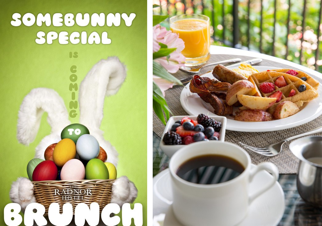 Easter Sunday Brunch at The Radnor