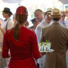 Refreshing Mint Juleps on the Veranda