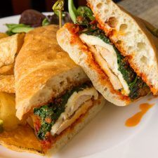 Grilled Chicken Ciabatta