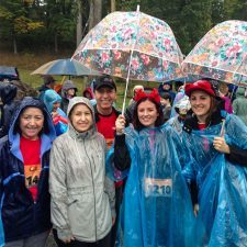 Lucia Vallejo, Elizabeth Correa, Antonio Vallejo, Abby Gilpatrick, and Marissa Lawson of The Radnor Red Racers