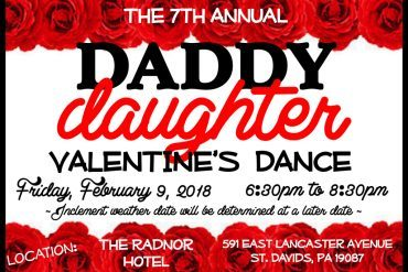 The 7th Annual Daddy Daughter Valentine's Dance at The Radnor