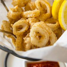 Crispy Fried Calamari