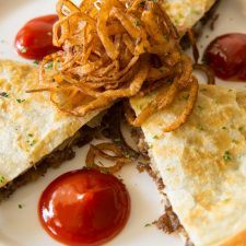 Philly Cheesesteak Quesadilla
