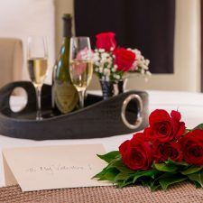 Enjoy a romantic overnight stay at the Wayne Hotel