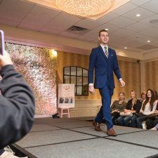 The Main Line Bridal Event Fashion Show with Sagets Formal Wear