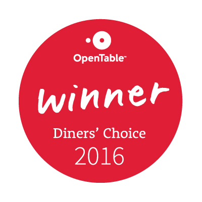 OpenTable Diners' Choice Awards 2016