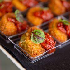 Fried Green Tomatoes & Tomato Chutney