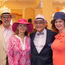 Steve & Kathy Bajus (Wayne Hotel and Paramour Owner), Bob Madonna (Surrey President & CEO), Maureen Brennan Miller (Surrey Board Chairman)