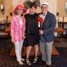 Women's Best Dressed 2nd Place Winner Wendy Mauchly with Kathy Bajus and Bob Madonna