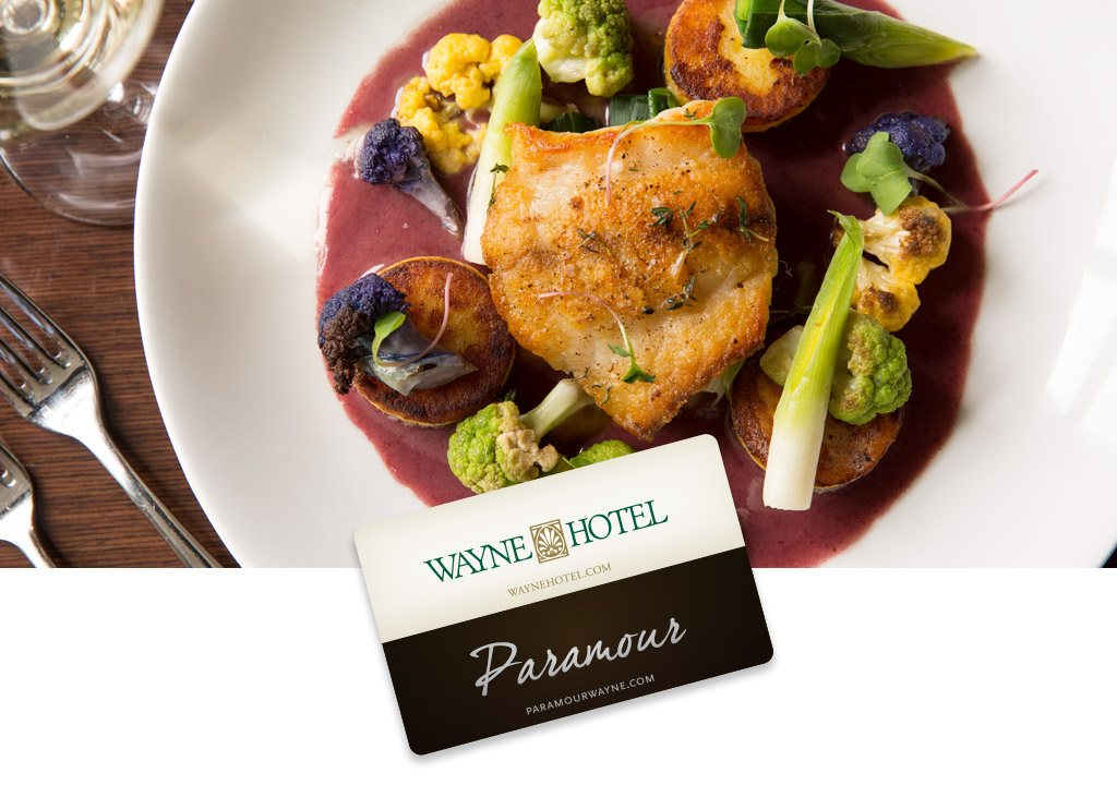Wayne Hotel and Paramour Gift Cards