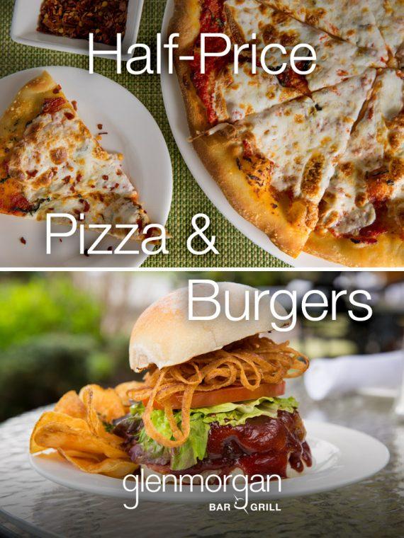 Half-Price Pizza & Burgers