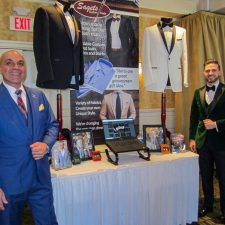 Sagets Formal Wear at the Main Line Bridal Event 2019