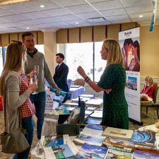 Bridget Ward Travel at the Main Line Bridal Event 2019