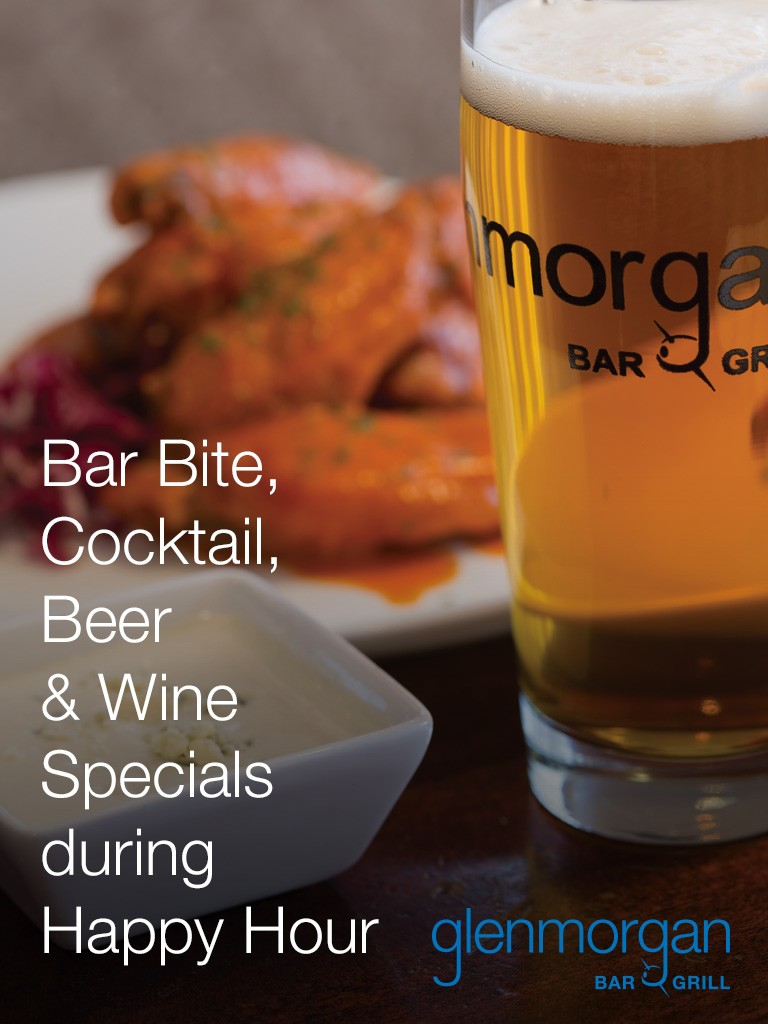Happy Hour at Glenmorgan Bar & Grill