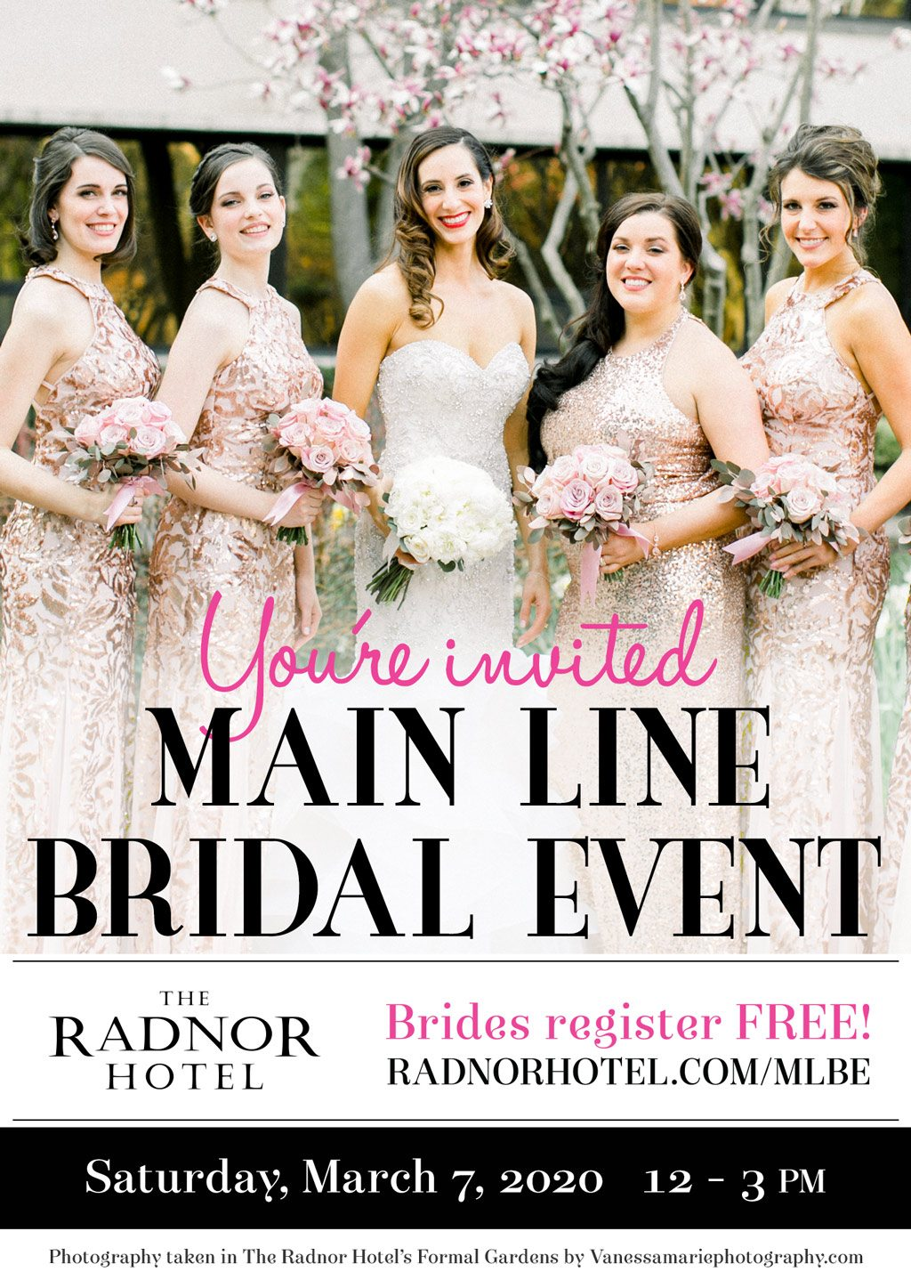 Main Line Bridal Event at The Radnor Hotel 2020