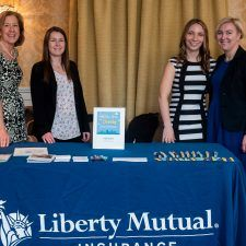 Liberty Mutual Insurance at the Main Line Bridal Event 2020