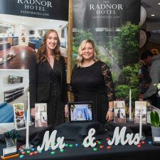 Breanne Clements and Michelle Shank from The Radnor Hotel at the Main Line Bridal Event 2020